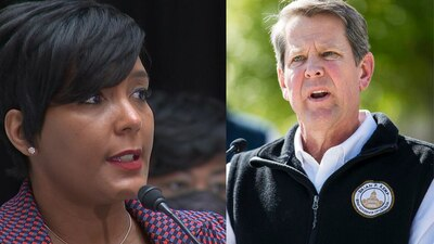 Mayor says Kemp's calling in National Guard was 'showmanship'