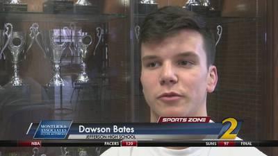 Jefferson's Dawson Bates: Montlick & Associates Athlete of the Week