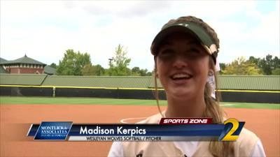 Wesleyan's Madison Kerpics: Montlick & Associates Athlete of the Week