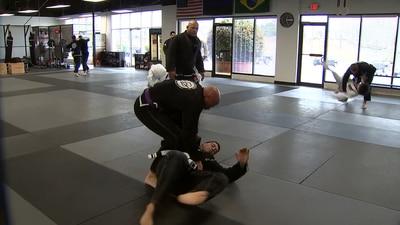 Marietta police officers learning Brazilian Jiu Jitsu to help keep the streets safe