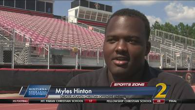 GAC's Myles Hinton: Montlick & Associates Athlete of the Week