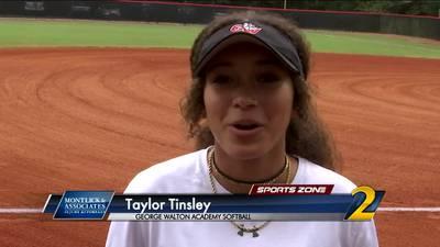 George Walton's Taylor Tinsley: Montlick & Associates Athlete of the Week