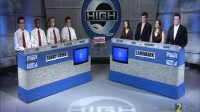 Sandy Creek vs Landmark Season 34 High Q 20-18