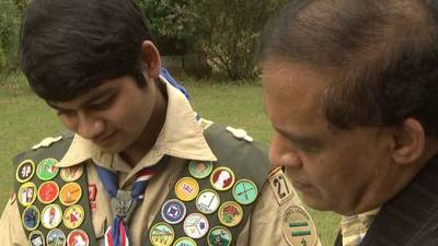 Forsyth County teen earns every Boy Scout merit badge possible