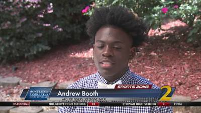 Archer's Andrew Booth: Montlick & Associates Athlete of the Week