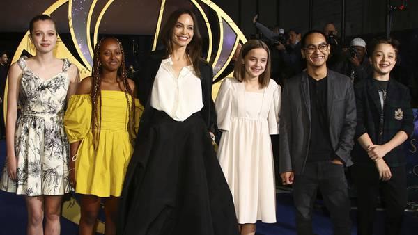 Photos: Angelina Jolie, 'Eternals' stars walk the red carpet at UK premiere