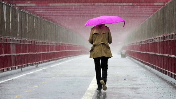 Photos: Nor'easter brings heavy rain, strong winds to New England