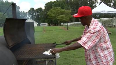 Beloved 'Barbecue Man' in Hall County receives big surprise from loyal customers