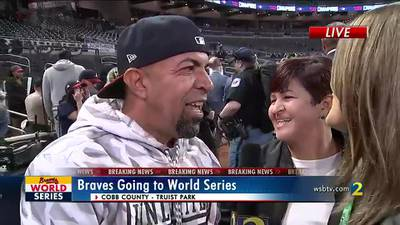 Eddie Rosario's parents says it's emotional to see their son win NLCS MVP