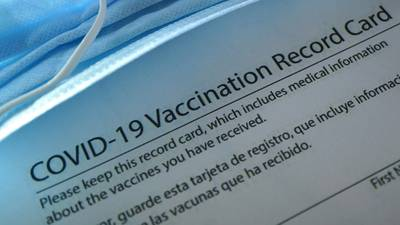 You have your COVID-19 vaccination card, so what happens to that information?