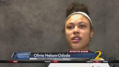 Winder Barrow's Olivia Nelson-Ododa: Montlick & Associates Athlete of the Week