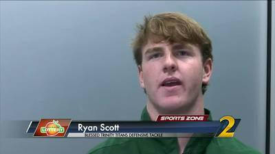 Blessed Trinity's Ryan Scott: Georgia Lottery Scholar Athlete