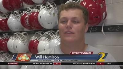 North Gwinnett's Will Hamilton: Georgia Lottery Scholar Athlete