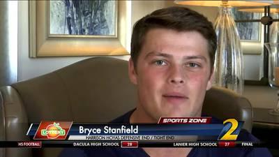 Harrison's Bryce Stanfield: Georgia Lottery Scholar Athlete