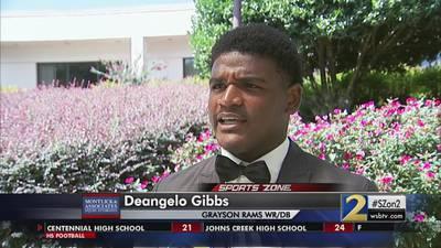 DeAngelo Gibbs: Montlick & Associates Athlete of the Week