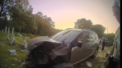 2 Investigates: Car crashes into church cemetery; insurance company refuses to pay