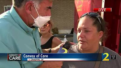 Convoy of Care arrives in Louisiana